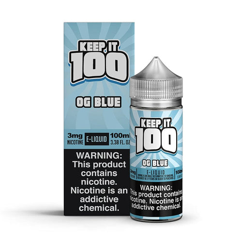 Keep It 100 OG Blue 100ml Vape Juice