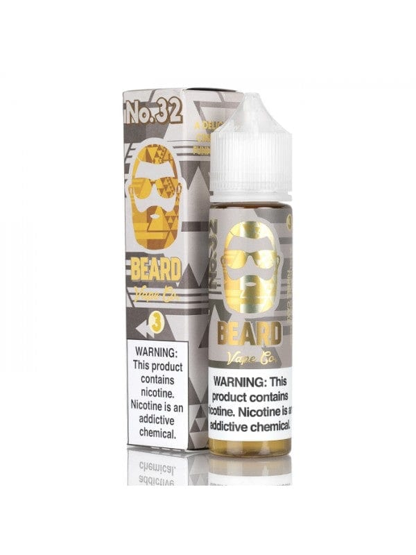 Beard Vape Co No. 32 Cinnamon Funnel Cake 60ml Vape Juice