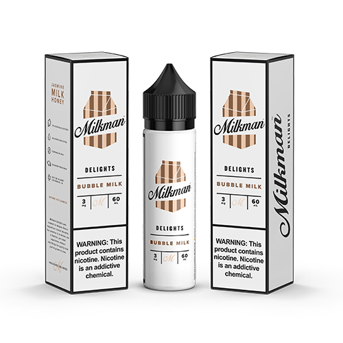 The Milkman Delights Bubble Milk 60ml Vape Juice