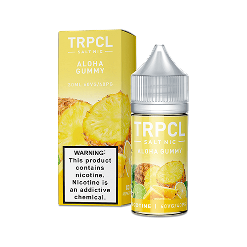 TRPCL ONE HUNDRED Salts Aloha Gummy 30ml Nic Salt Vape Juice