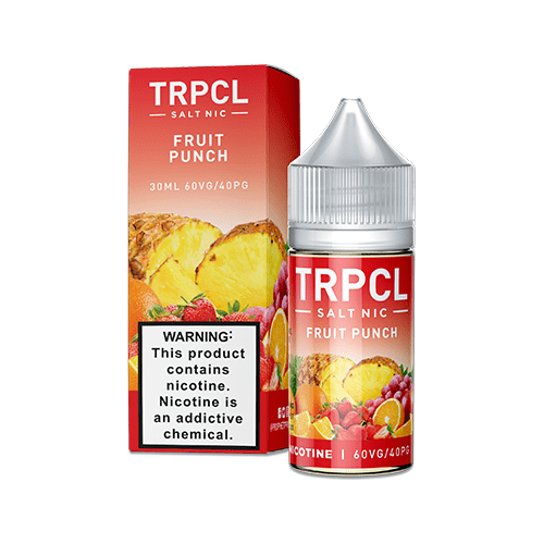 TRPCL ONE HUNDRED Salts Fruit Punch 30ml Nic Salt Vape Juice