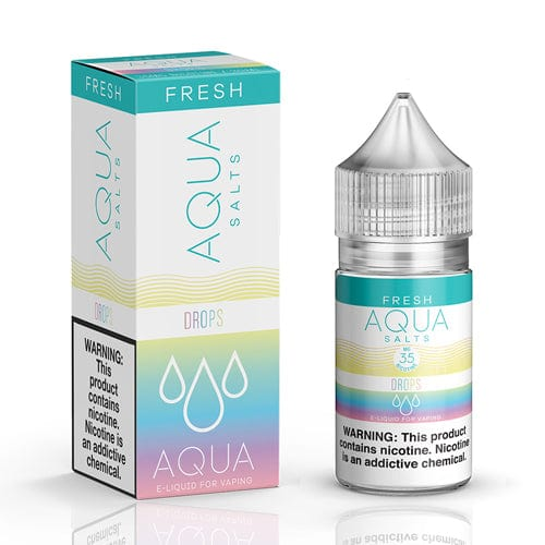 Aqua Salts Fresh Drops 30ml Nic Salt Vape Juice