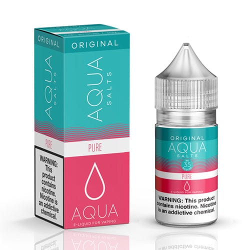Aqua Salts Original Pure 30ml Nic Salt Vape Juice