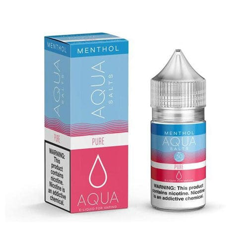 Aqua Salts Menthol Pure 30ml Vape Juice