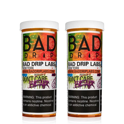 Bad Drip Don't Care Bear 2x60ml Vape Juice