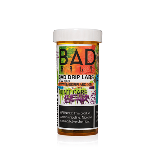 Bad Drip Salts Don't Care Bear 30ml Nic Salt Vape Juice