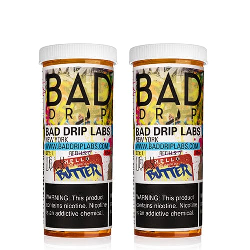 Bad Drip Ugly Butter 2x60ml Vape Juice