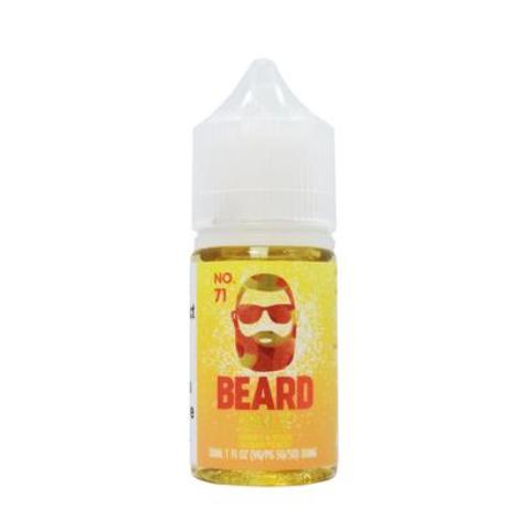 Beard Vape Co No. 71 Sweet & Sour Sugar Peach Salt Eliquid
