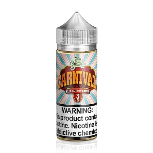 Juice Roll Upz Carnival Blue Cotton Candy 100ml Vape Juice