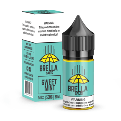 Brella Salts Sweet Mint 30ml Nic Salt Vape Juice