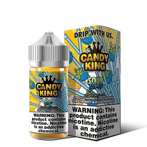 Candy King Sour Straws 100ml Vape Juice
