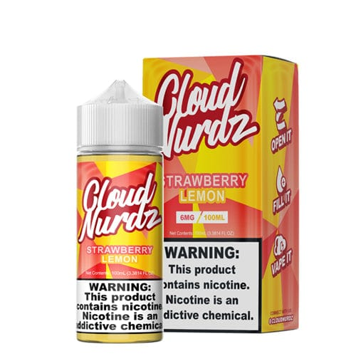 Cloud Nurdz Strawberry Lemon 100ml Vape Juice