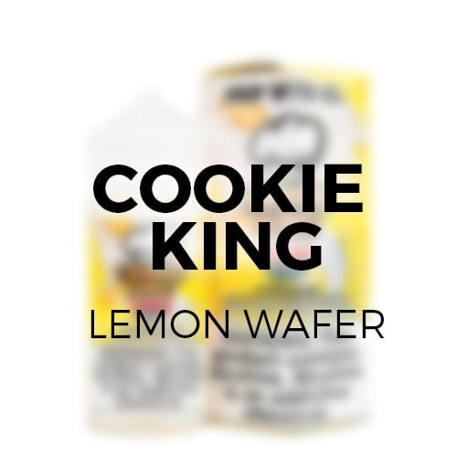 Cookie King Lemon Wafer 100ml Vape Juice