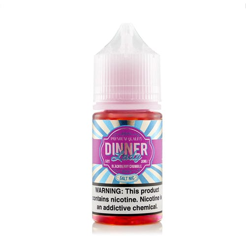Dinner Lady Salts Blackberry Crumble 30ml Nic Salt Vape Juice