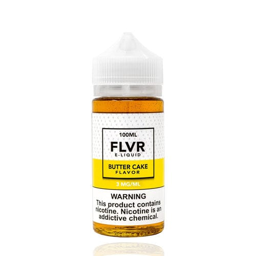 FLVR Butter Cake 100ml Vape Juice