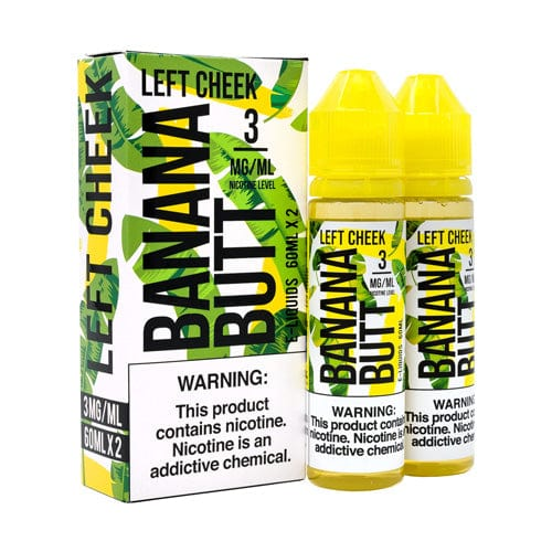 FRYD Banana Butt Left Cheek 2x60ml Vape Juice
