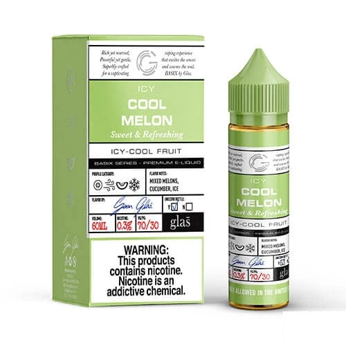GLAS Basix Icy Cool Melon 60ml Vape Juice