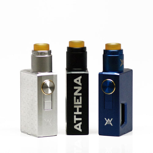 Geekvape Athena Squonk Kit - Athena squonk ready RDA paired with Athena Mechanical Box Mod Vaporizer Device