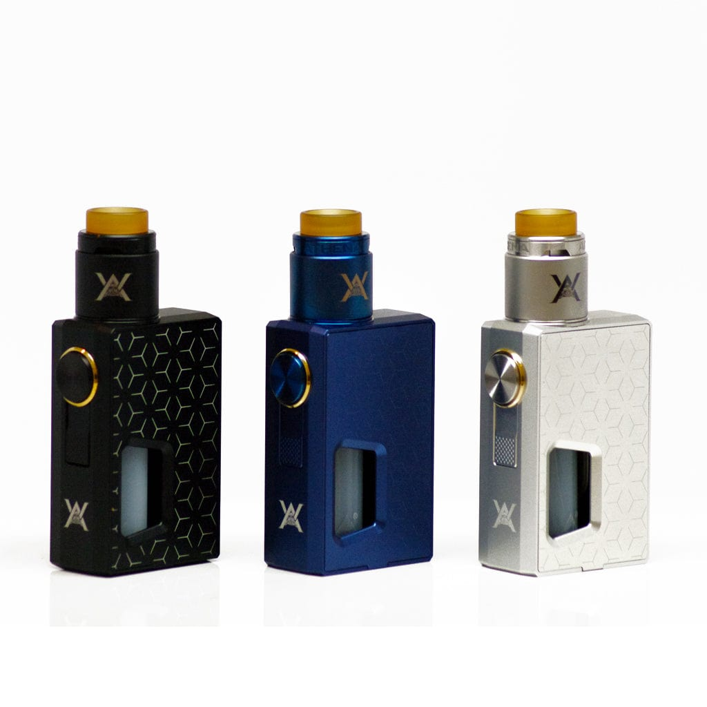 Geekvape Athena Squonk Kit Color Options- Mechanical Squonk Single 18650 Battery Box Mod with matching RDA