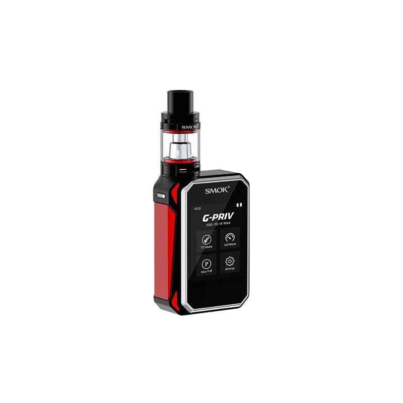Smok G-Priv Kit 200W Touchscreen Device in Red and Black
