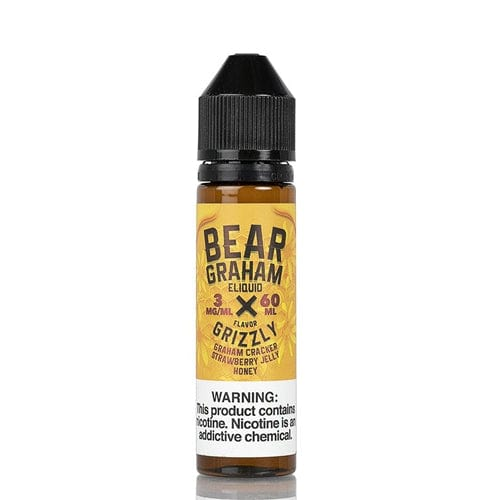 Bear Graham Eliquid Grizzly 60ml Vape Juice