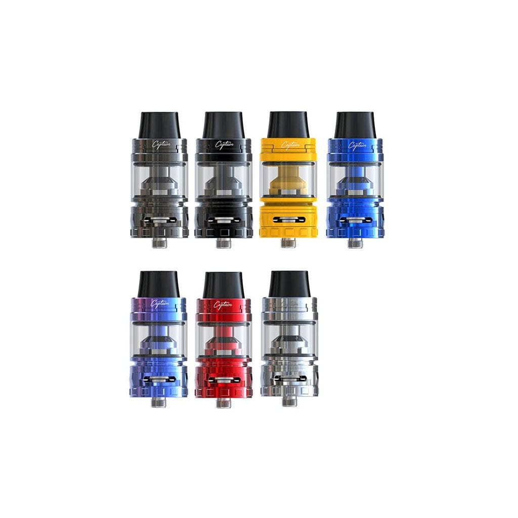 Ijoy CaptainS Tank Sub-Ohm 25mm Vaping Atomizer with Sliding Top Fill