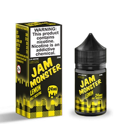 Jam Monster Salts Lemon 30ml Nic Salt Vape Juice