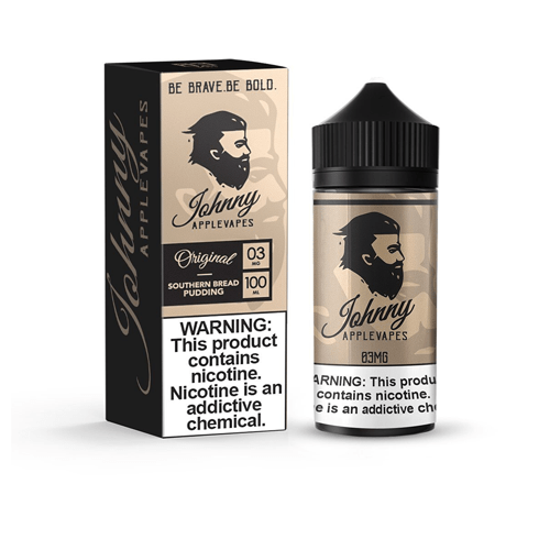 Johnny Applevapes Southern Bread Pudding 100ml Vape Juice