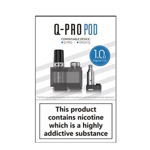 Lost Vape Orion Q-PRO Replacement Cartridge Pack (Includes 2 Coils)