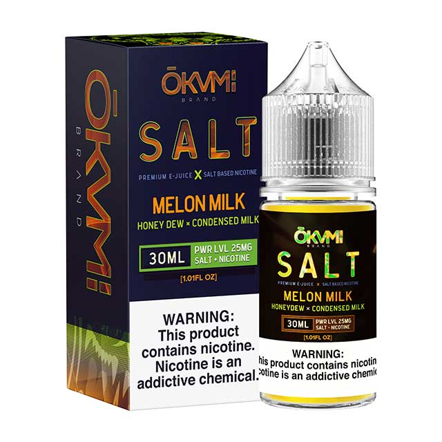 Okami Salts Melon Milk 30ml Nic Salt Vape Juice