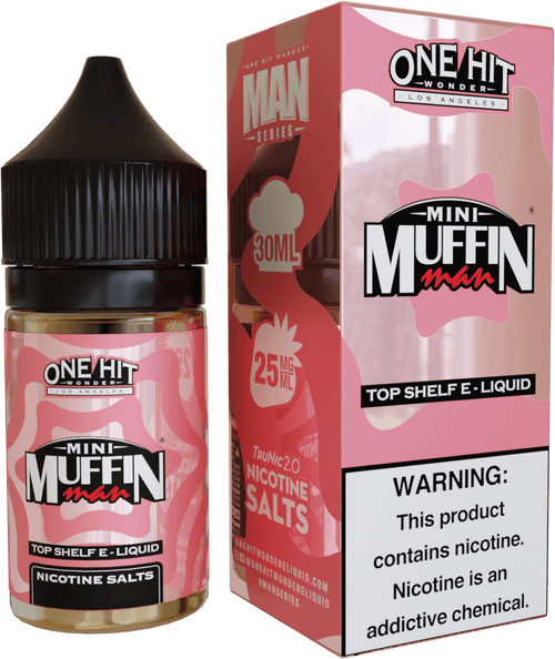One Hit Wonder Mini Muffin Man 30ml Nic Salt Vape Juice