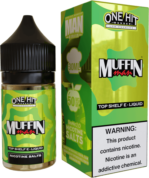 One Hit Wonder Muffin Man 30ml Nic Salt Vape Juice