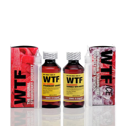 OMG E Liquid WTF & WTF ICE 120ml