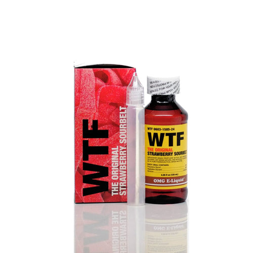 OMG WTF & WTF ICE 120ml Vape Juice