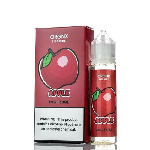 Orgnx Apple 60ml Vape Juice
