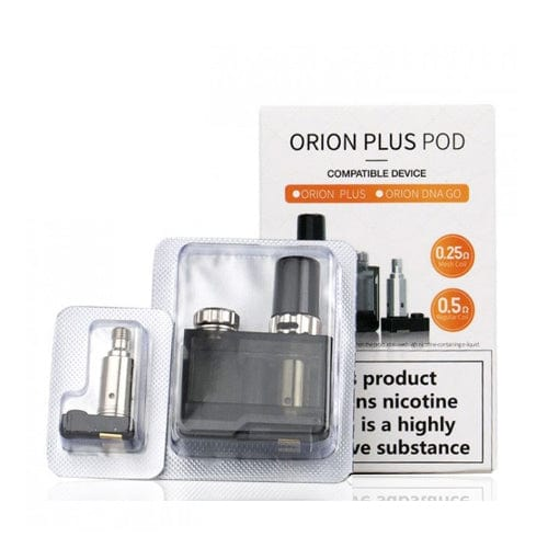 Lost Vape Orion Plus Pod Cartridge Pack (Includes 2 Coils)