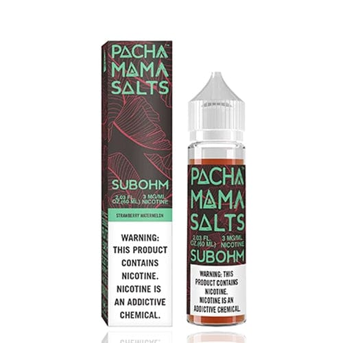 Pachamama Subohm Salts Strawberry Watermelon 60ml Vape Juice