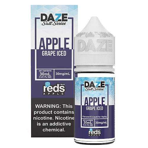 Reds Salt Series Grape ICED 30ml Nic Salt Vape Juice