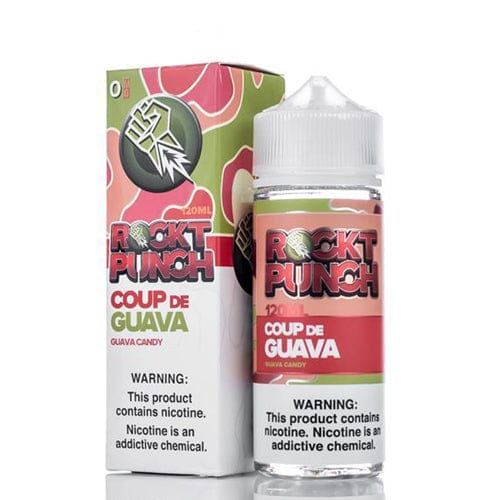Rockt Punch Coup De Guava 120ml Vape Juice