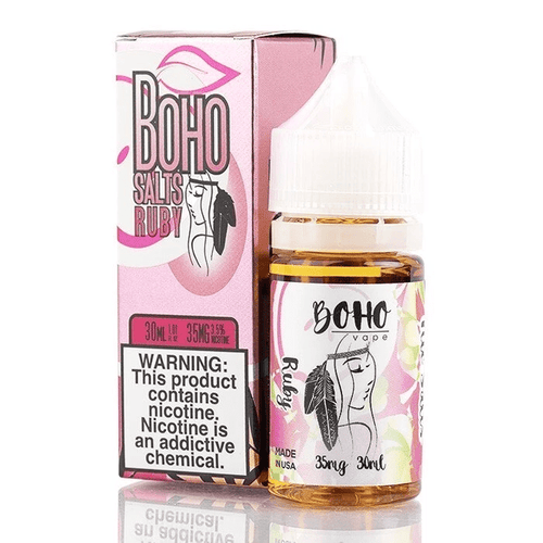 Boho Vape Salts Ruby Salt 30ml Nic Salt Vape Juice