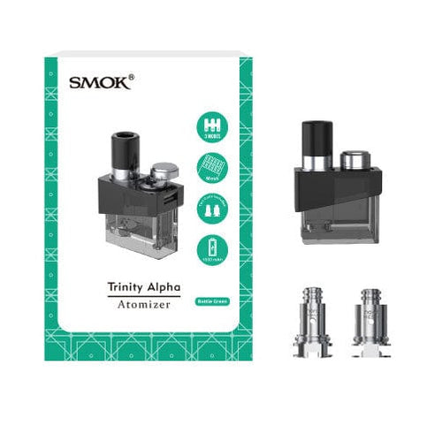 SMOK Trinity Alpha Pod Coils + Cartridge