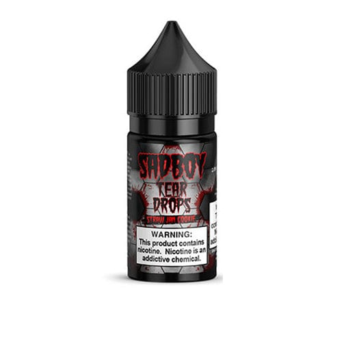 Sadboy Tear Drops Straw Jam Cookie 30ml Nic Salt Vape Juice