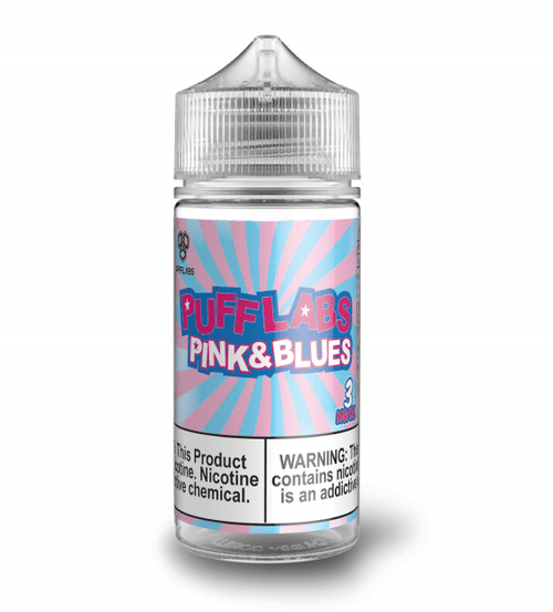 Puff Labs Pink & Blues 100ml Vape Juice