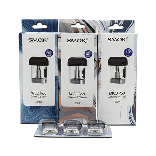 SMOK MICO Replacement Pod Cartridges (Pack of 3)