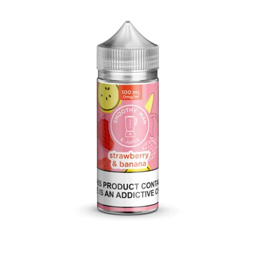 Smoothy Man Strawberry Banana 100ml Vape Juice