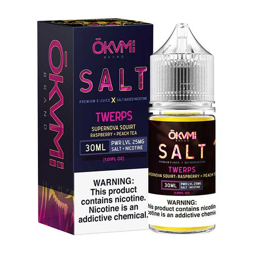 Okami Salts Twerps 30ml Nic Salt Vape Juice
