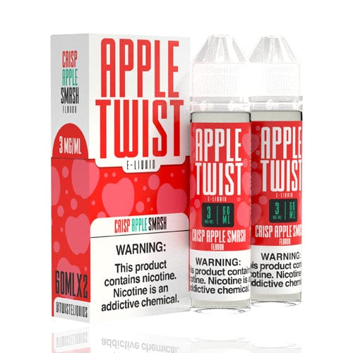 Crisp Apple Smash 2x 60ml (120ml) Vape Juice - Twist E-Liquids