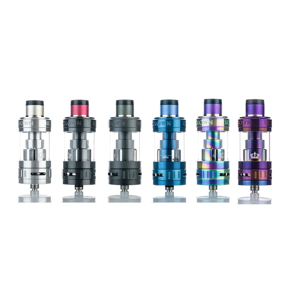 Uwell Crown 3 Sub Ohm Tank Color Options at Eightvape.com