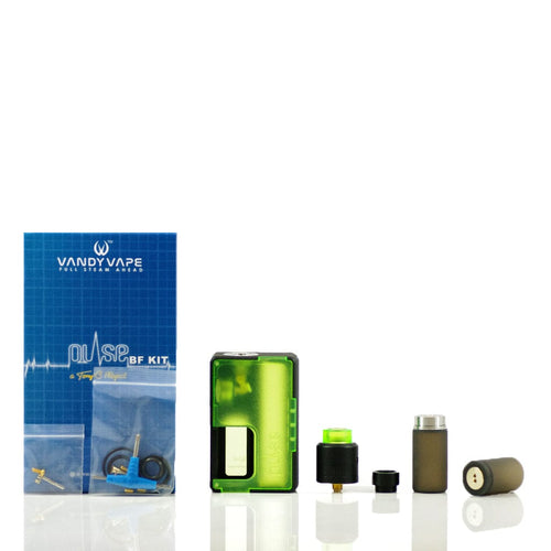 Vandy Vape Pulse BF Squonk Kit in Transparent Green