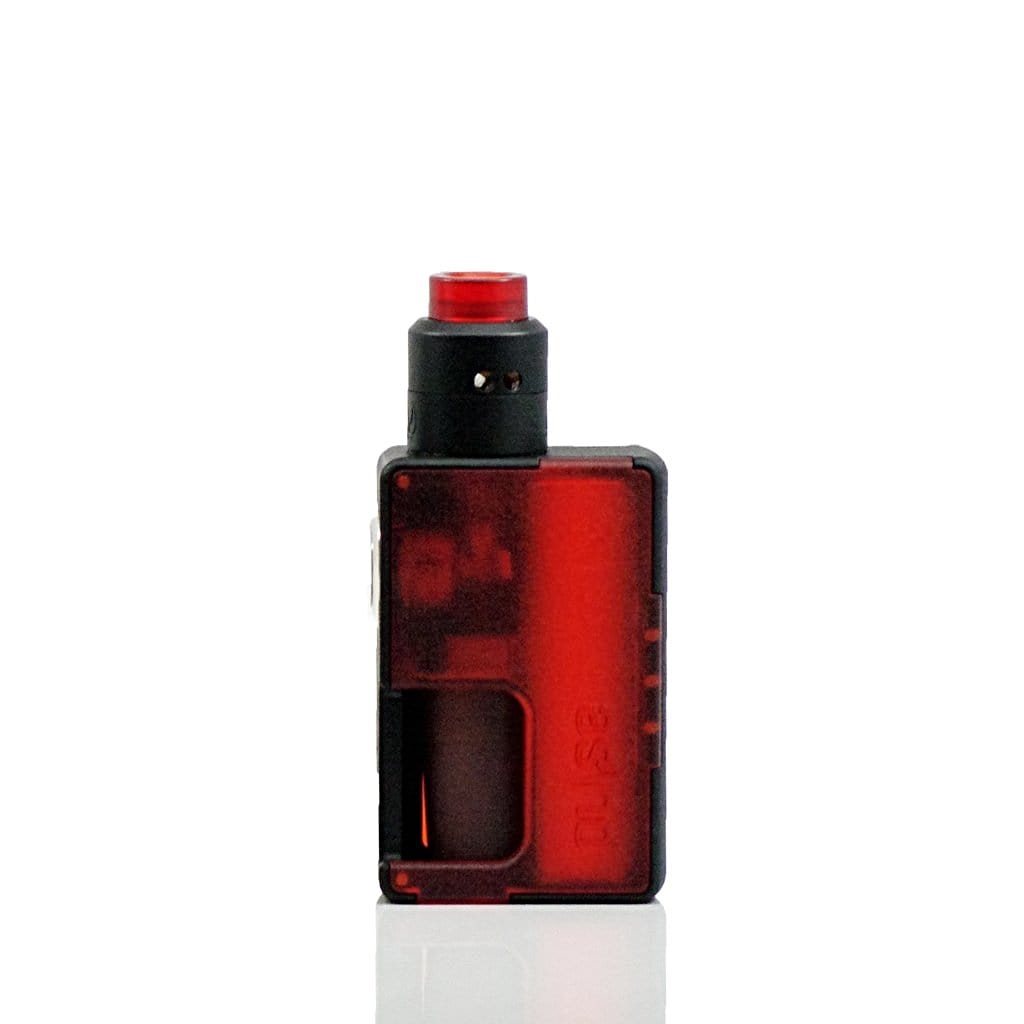 Vandy Vape Pulse Squonk Kit in Translucent Red